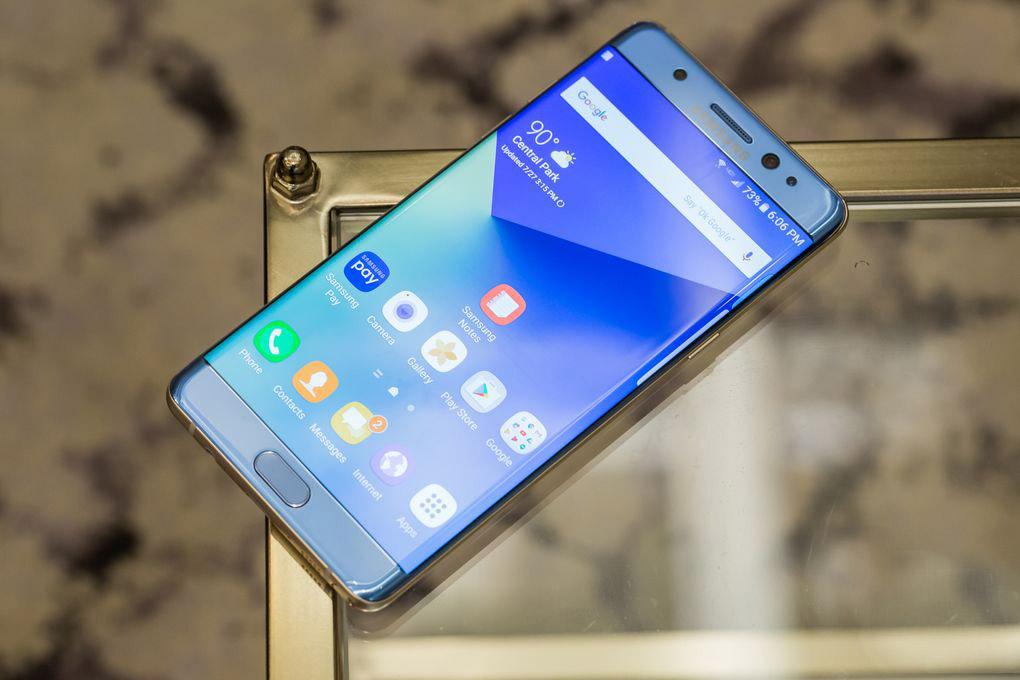 Ներկայացվել Է Samsung Galaxy Note 7 նոր սմարթֆոնը