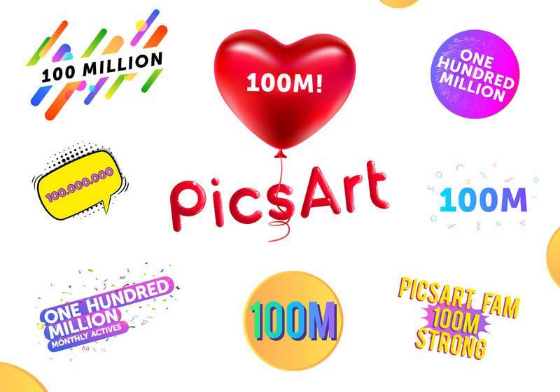 PicsArt. ամսական 100 միլիոն ակտիվ օգտատեր