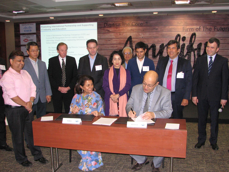 WCIT 2018-ում ստորագրվել է հուշագիր «Արմաթ» լաբորատորիաներն արտահանելու շուրջ