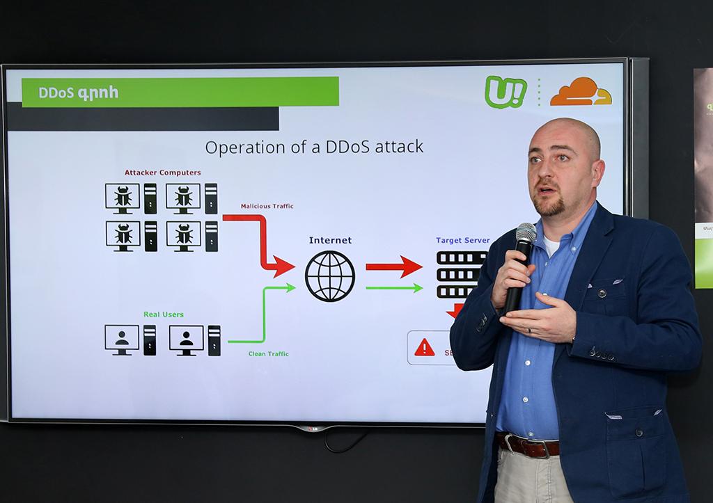 Ucom. Երևանում գործարկվել է Cloudflare դատա կենտրոն