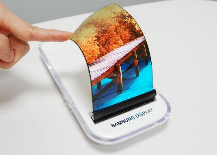 Samsung-ը ճկվող էկրանով սմարթֆոն է ցուցադրել