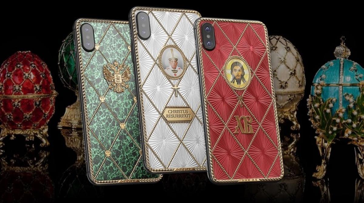 Թողարկվել են Հռոմի Պապի և Հիսուսի նկարներով ոսկեպատ iPhone X սմարթֆոններ