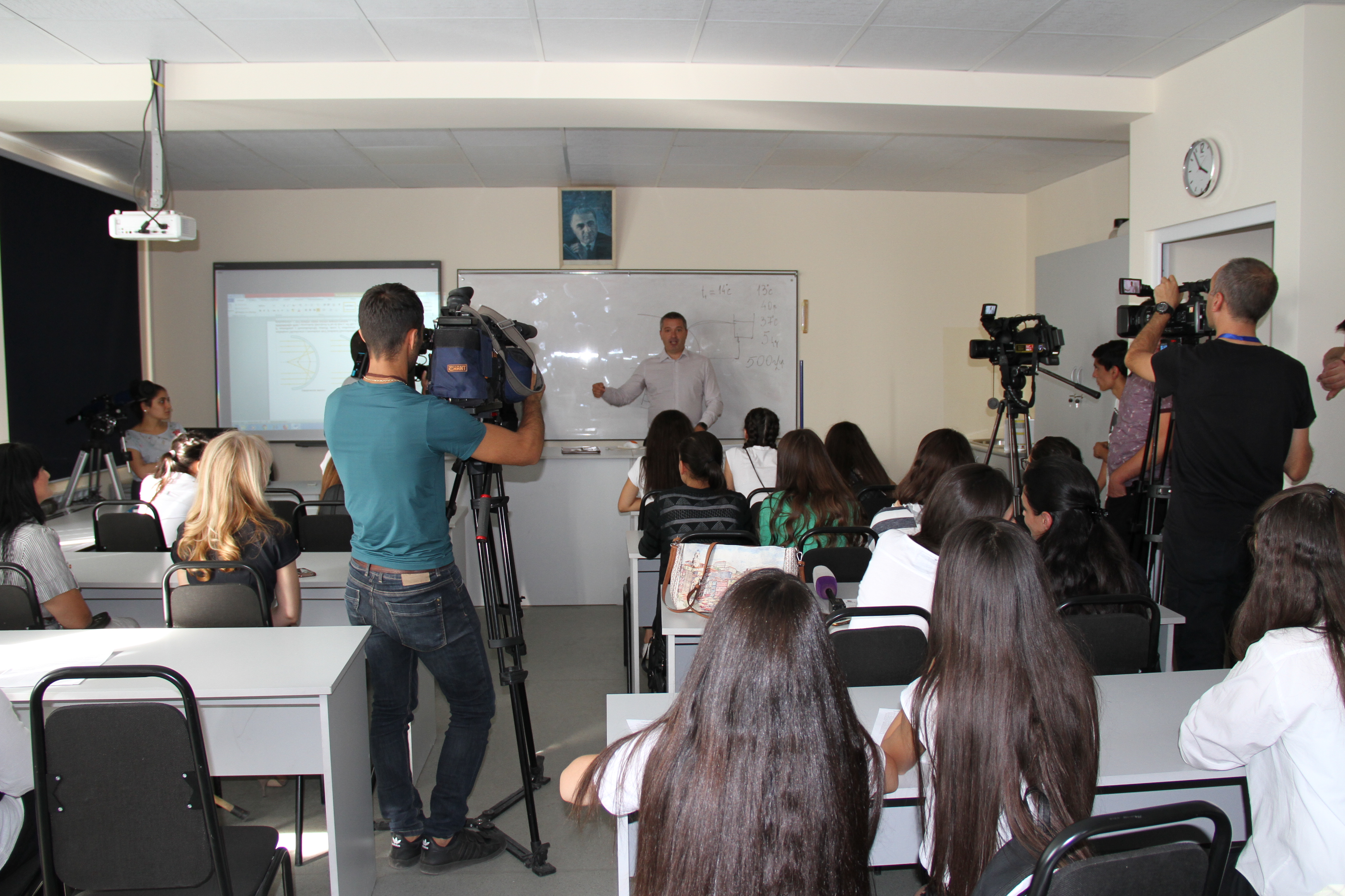 Beeline. դպրոցականները կուսումնասիրեն արևային էներգիայի կուտակման տեխնոլոգիան