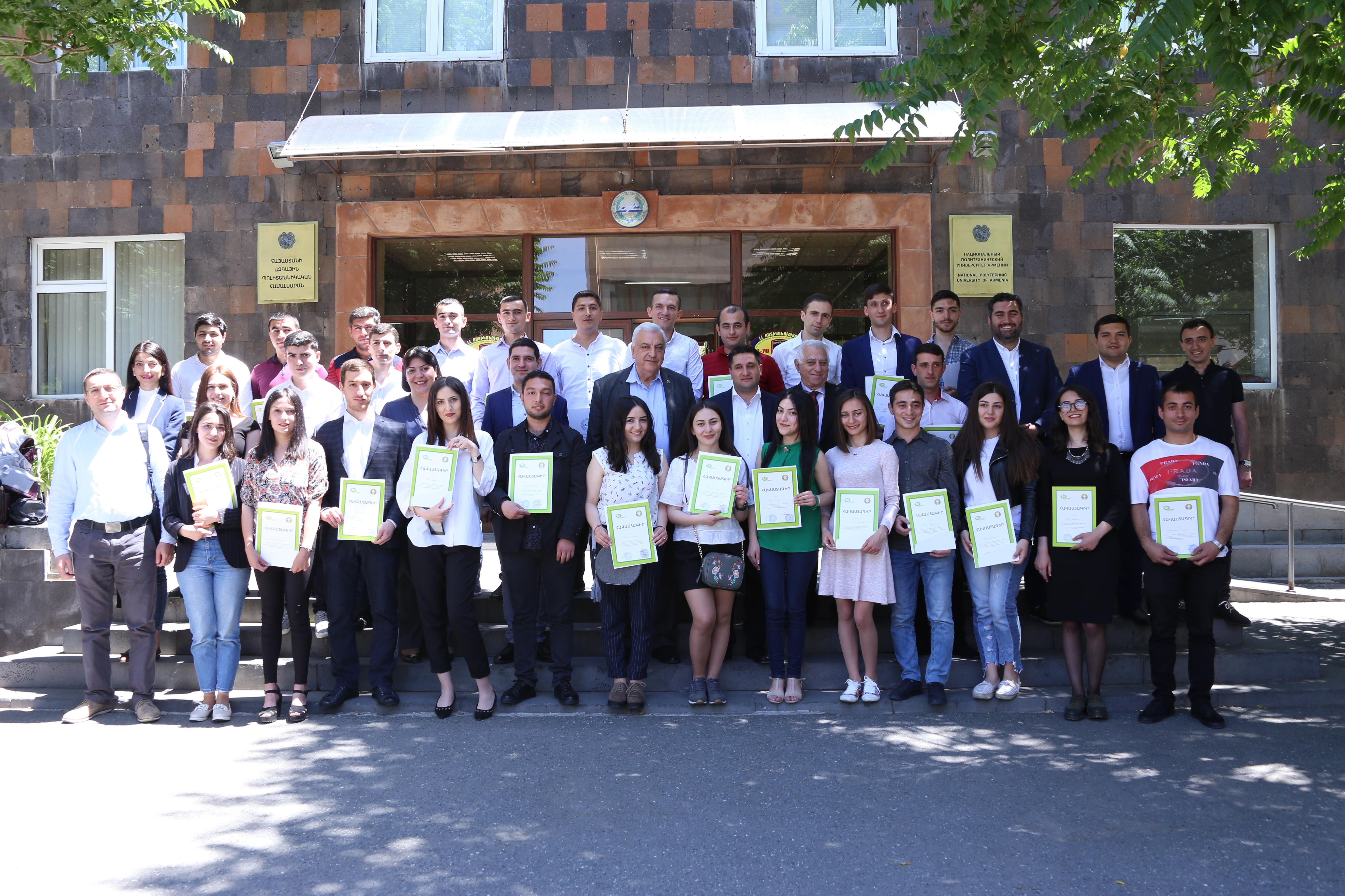 Ucom-ը մրցութային կարգով աշխատանքի է ընդունել Պոլիտեխնիկական համալսարանի ուսանողների