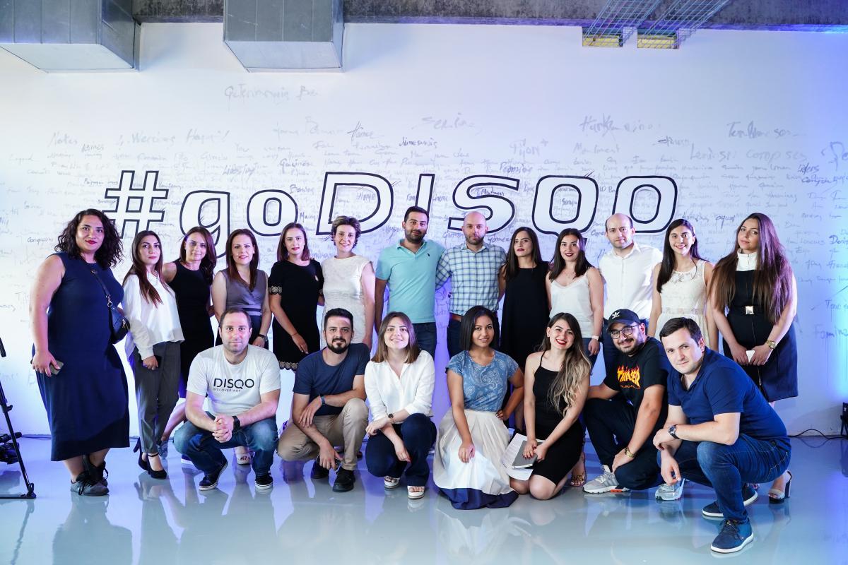 DISQO-ն նշեց Հայաստանյան գրասենյակի ընդլայնումը.  ստարտափը զարգացման նոր փուլ է մտնում եւ նոր մասնագետներ է փնտրում
