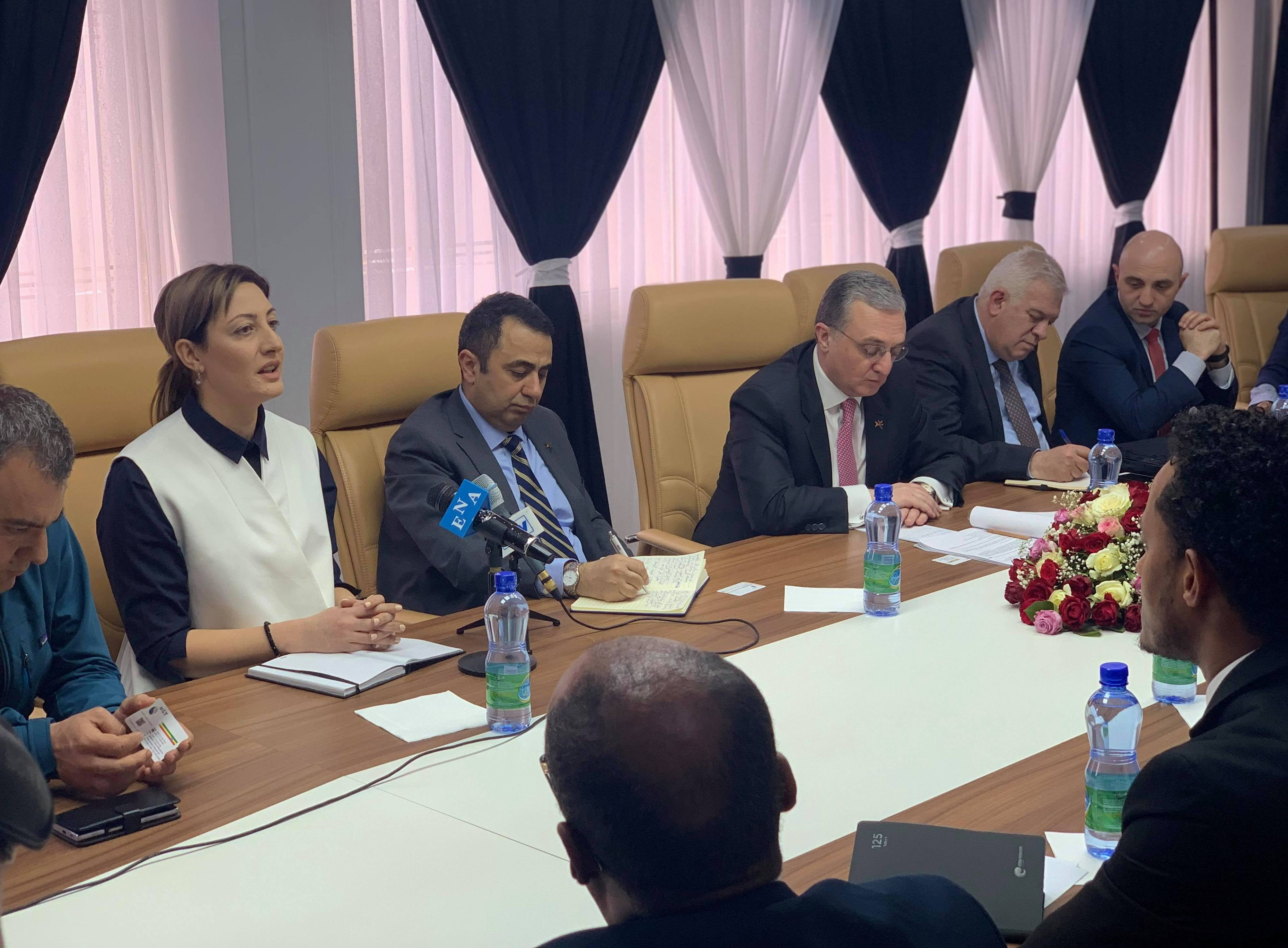 Հայաստանն ու Եթովպիան կհամագործակցեն բարձր տեխնոլոգիաների եւ ճարտարագիտության ոլորտներում