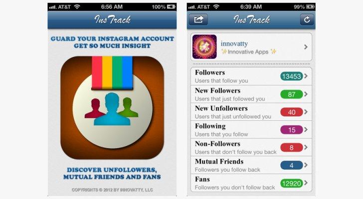 InsTrack for Instagram հավելվածը դարձել է անվճար