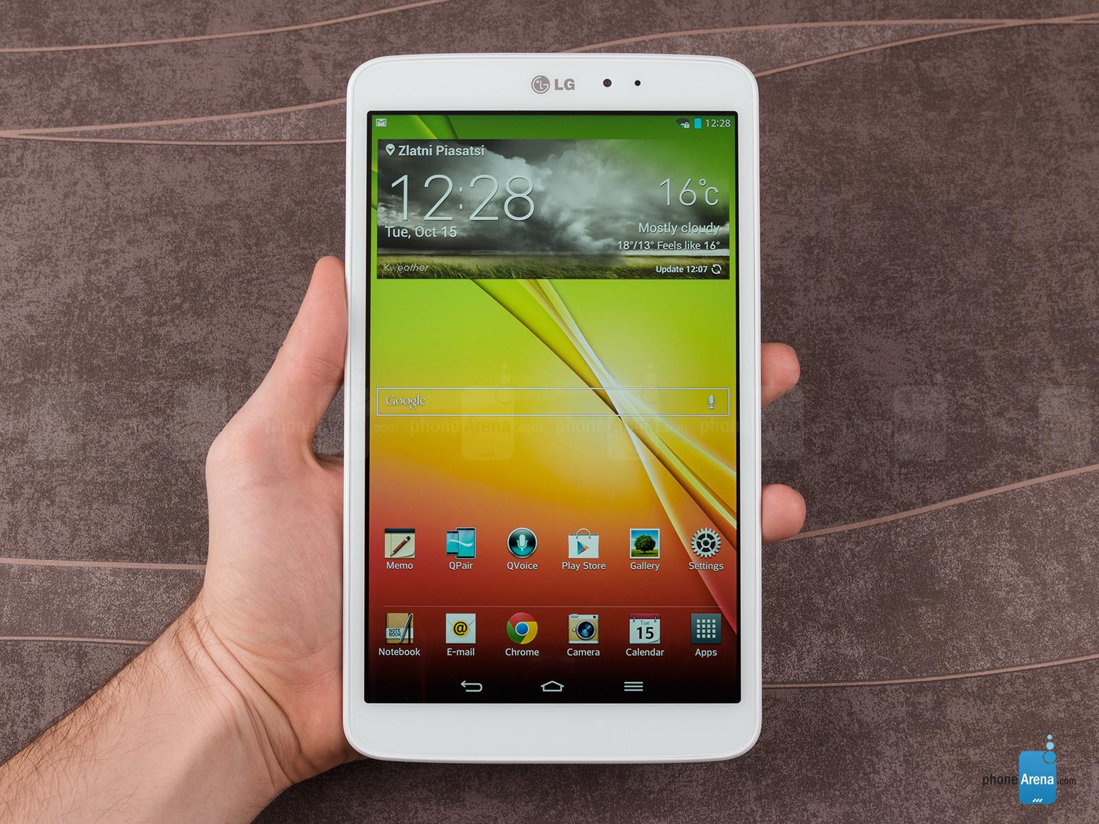 LG ընկերությունը ներկայացրել է LG G Pad 8.3 պլանշետը