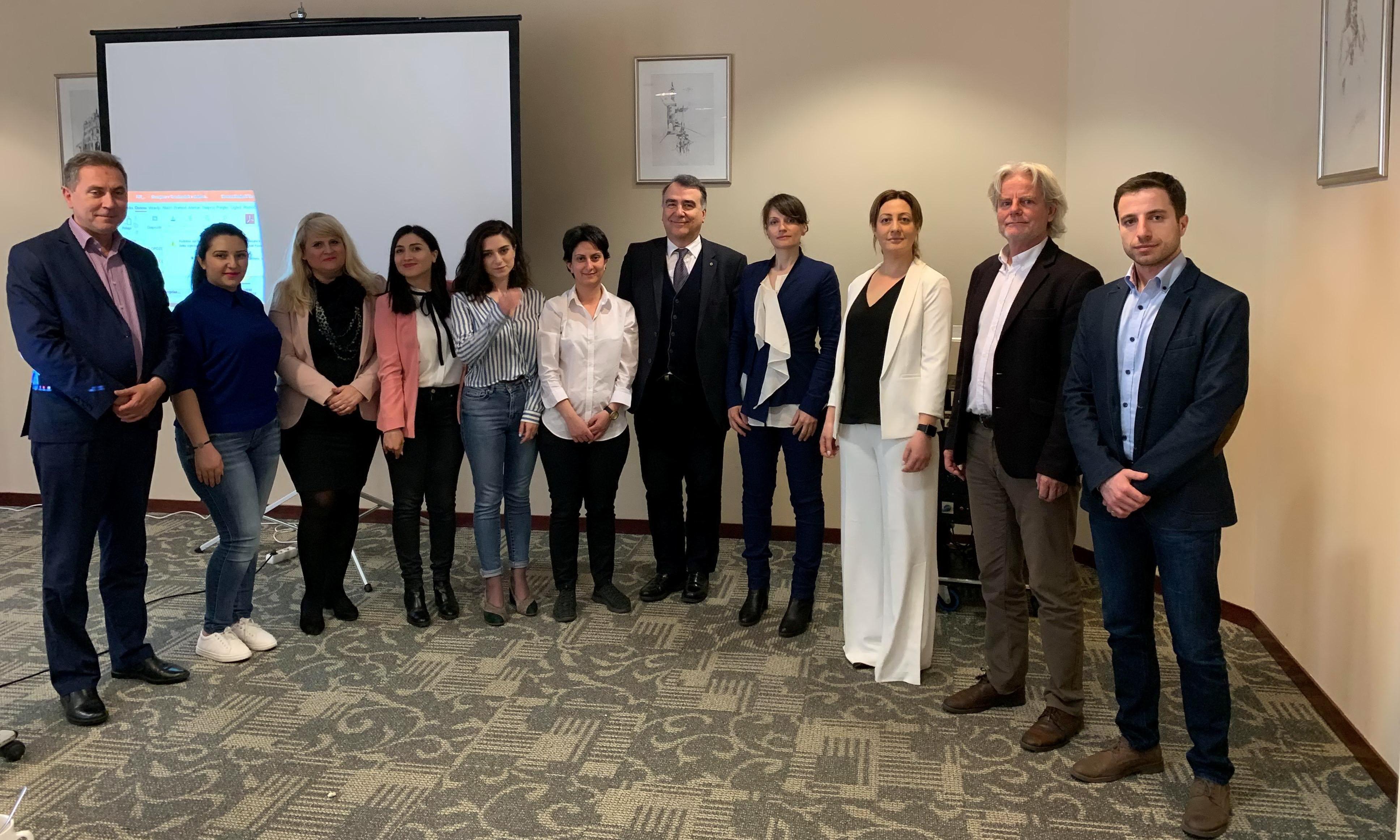Հայաստանի տեխնոլոգիական կենտրոնների ներկայացուցիչները այցելել են Լյուբլյանայի տեխնոպարկ