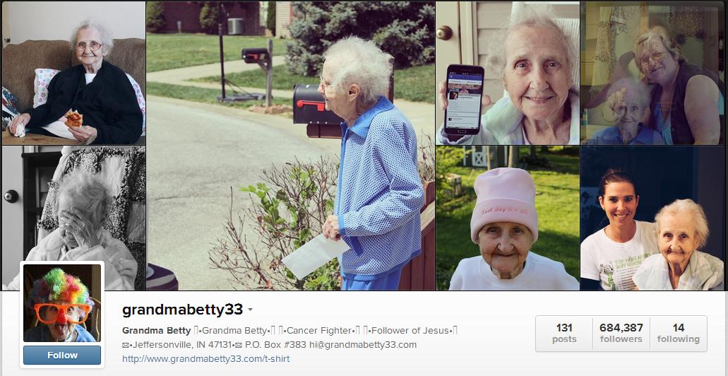 Instagram-ի 80-ամյա աստղ Բեթթի Սիմփսոնը