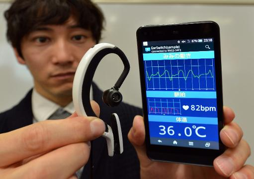 Ear Switch. Google Glass ականջների համար